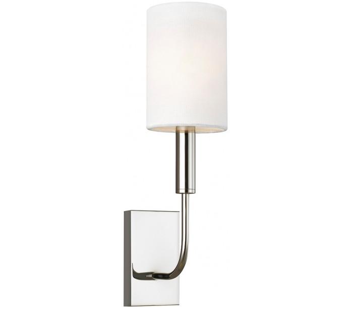 feiss lighting Brianna 1 væglampe h35,9 cm 1 x e14 - poleret nikkel på lepong.dk