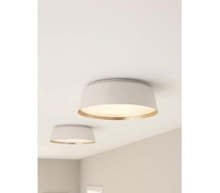 Asher Plafond Ø36,8 cm 3 x E14 - Hvid