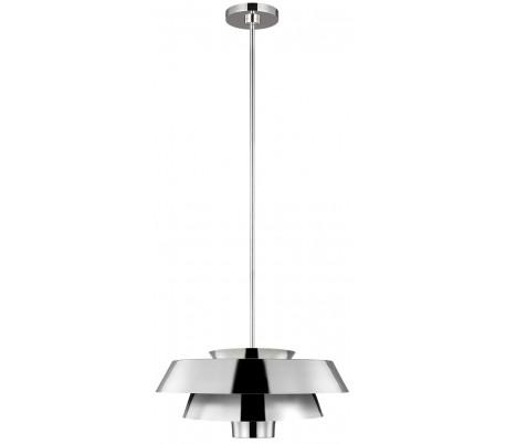 Brisbin Loftlampe Ø45,7 cm 1 x E27 - Poleret nikkel