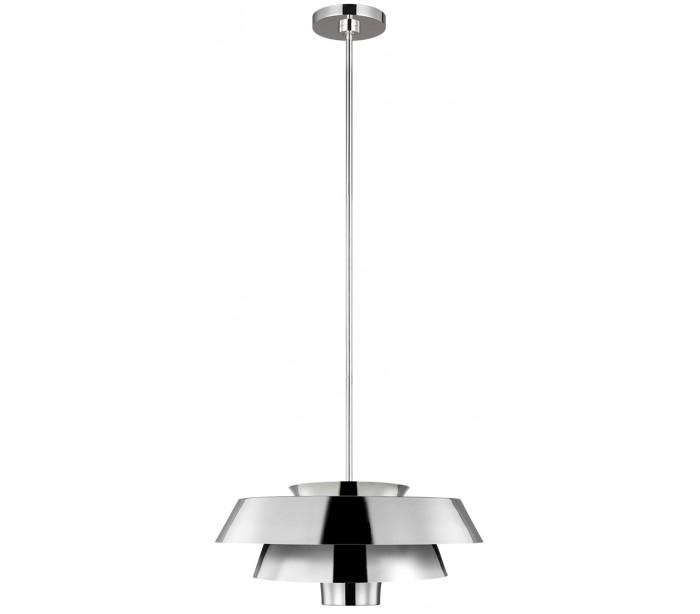 Brisbin loftlampe ø45,7 cm 1 x e27 - poleret nikkel fra feiss lighting på lepong.dk