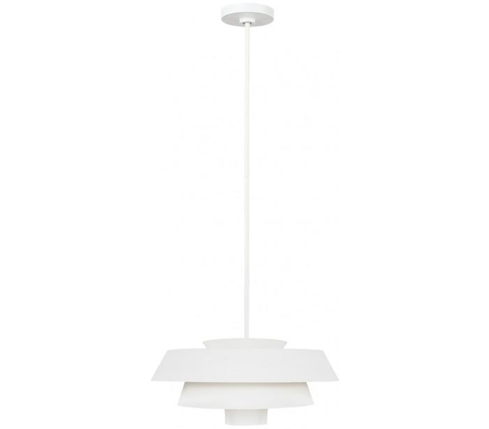 feiss lighting Brisbin loftlampe ø45,7 cm 1 x e27 - hvid fra lepong.dk