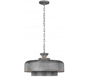 Haymarket Loftlampe i galvaniseret stål Ø46 cm 1 x E27 - Galvaniseret