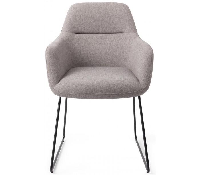 jesper home – 2 x kinko spisebordsstole h84 cm polyester - sort/earl grey fra lepong.dk