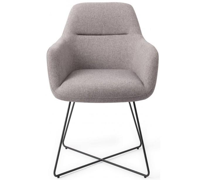 alexander rose – 2 x kinko spisebordsstole h84 cm polyester - sort/earl grey på lepong.dk