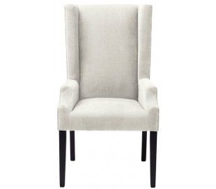 Tempio spisebordsstol i polyester H115 x B63 cm - Sand