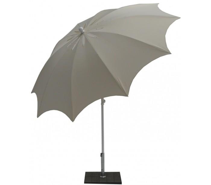 maffei Maffei bea parasol i polyester og stål ø250 cm - natur fra lepong.dk