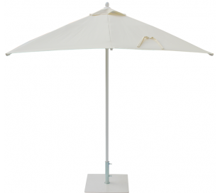 Maffei Kronos parasol i polyester og aluminium 225 x 225 cm - Natur
