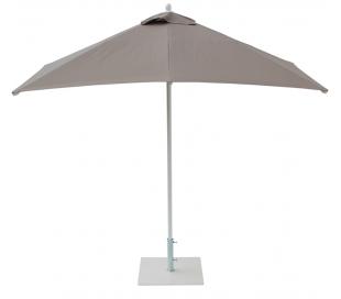 Maffei Kronos parasol i polyester og aluminium 225 x 225 cm - Taupe