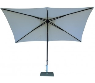 Maffei Kronos parasol i polyester og aluminium 200 x 300 cm - Natur