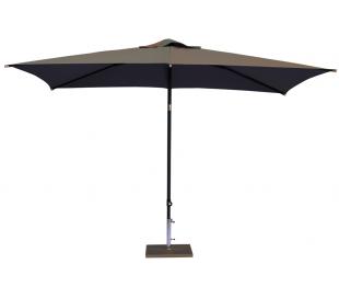 Maffei Kronos parasol i polyester og aluminium 200 x 300 cm - Taupe