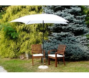 Maffei Kronos parasol i polyester og stål 200 x 200 cm - Hvid