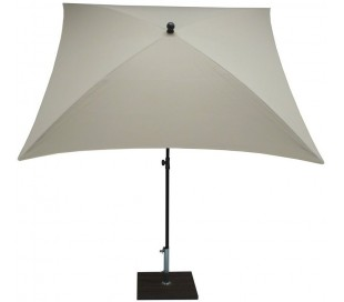Maffei Kronos parasol i polyester og stål 200 x 200 cm - Natur