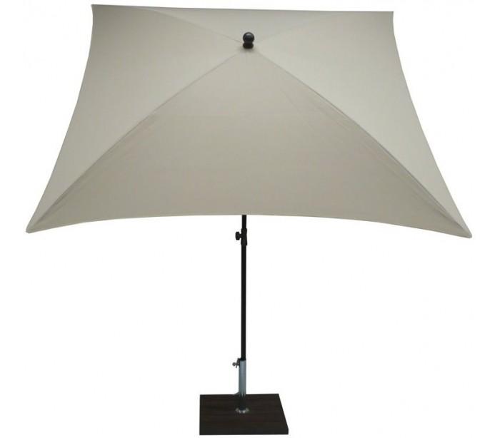 Maffei kronos parasol i polyester og stål 200 x 200 cm - natur fra gantlights fra lepong.dk
