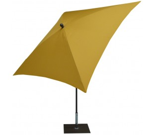 Maffei Kronos parasol i polyester og stål 200 x 200 cm - Gul