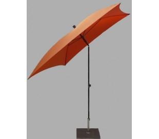 Maffei Kronos parasol i polyester og stål 200 x 200 cm - Orange