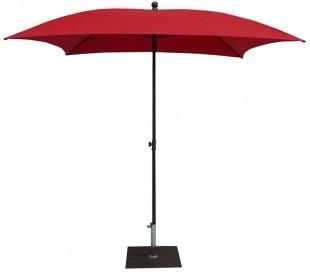 Maffei Kronos parasol i polyester og stål 200 x 200 cm - Rød