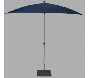 Maffei Kronos parasol i polyester og stål 200 x 200 cm - Blå