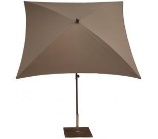 Maffei Kronos parasol i polyester og stål 200 x 200 cm - Taupe