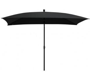 Maffei Kronos parasol i polyester og stål 240 x 150 cm - Antracit