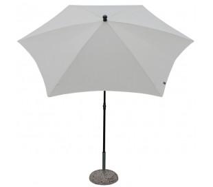 Maffei Kronos parasol i polyester og stål Ø250 cm - Natur