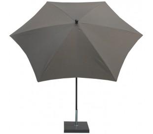 Maffei Kronos parasol i polyester og stål Ø250 cm - Taupe