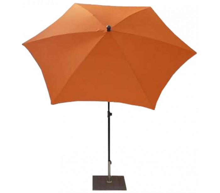 maffei Maffei kronos parasol i polyester og stål ø250 cm - orange på lepong.dk