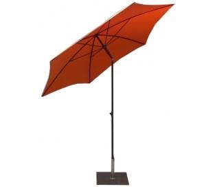 Maffei Kronos parasol i polyester og stål Ø250 cm - Orange