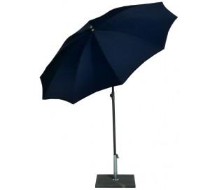 Maffei Kronos parasol i polyester og stål Ø200 cm - Blå