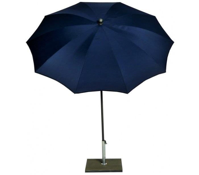 Maffei kronos parasol i polyester og stål ø200 cm - blå fra maffei fra lepong.dk