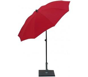 Maffei Kronos parasol i polyester og stål Ø200 cm - Rød