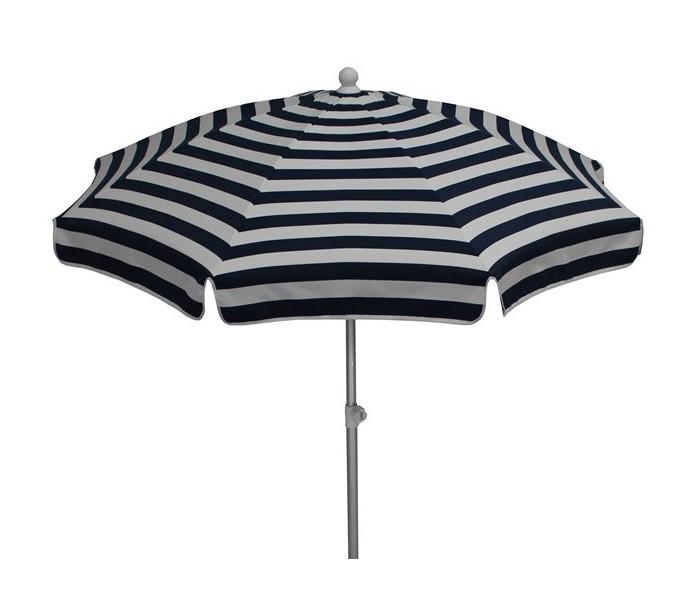 maffei – Maffei superalux parasol i dralon og aluminium ø200 cm - hvid/blå fra lepong.dk