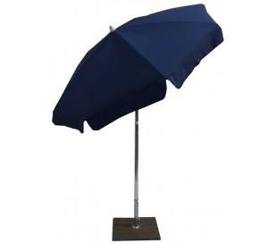 Maffei Alux parasol i polyester og aluminium Ø200 cm - Blå