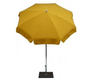 Maffei Alux parasol i polyester og aluminium Ø200 cm - Gul
