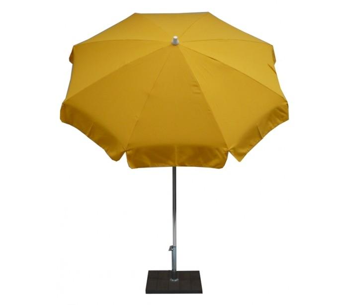 maffei – Maffei alux parasol i polyester og aluminium ø200 cm - gul fra lepong.dk