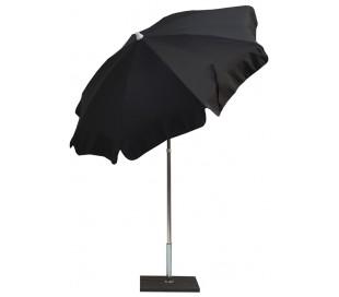 Maffei Alux parasol i polyester og aluminium Ø200 cm - Antracit