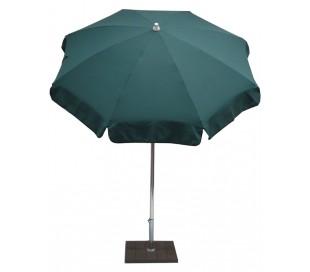 Maffei Alux parasol i polyester og aluminium Ø200 cm - Grøn