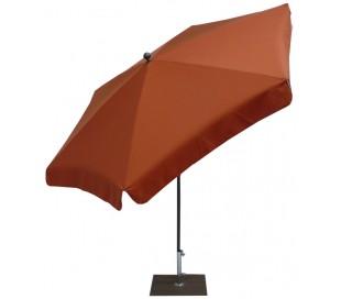 Maffei Mare parasol i texma og stål Ø250 cm - Terracotta