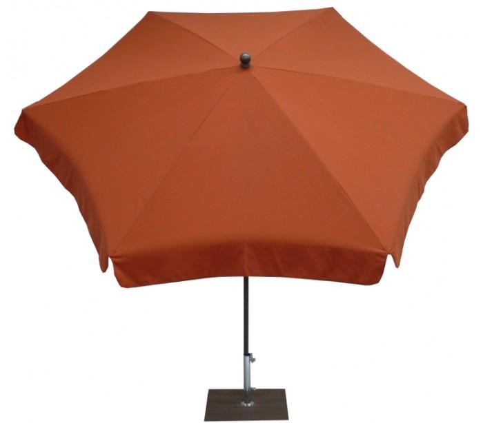 maffei Maffei mare parasol i texma og stål ø250 cm - terracotta fra lepong.dk
