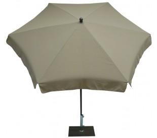 Maffei Mare parasol i polyester og stål Ø250 cm - Taupe
