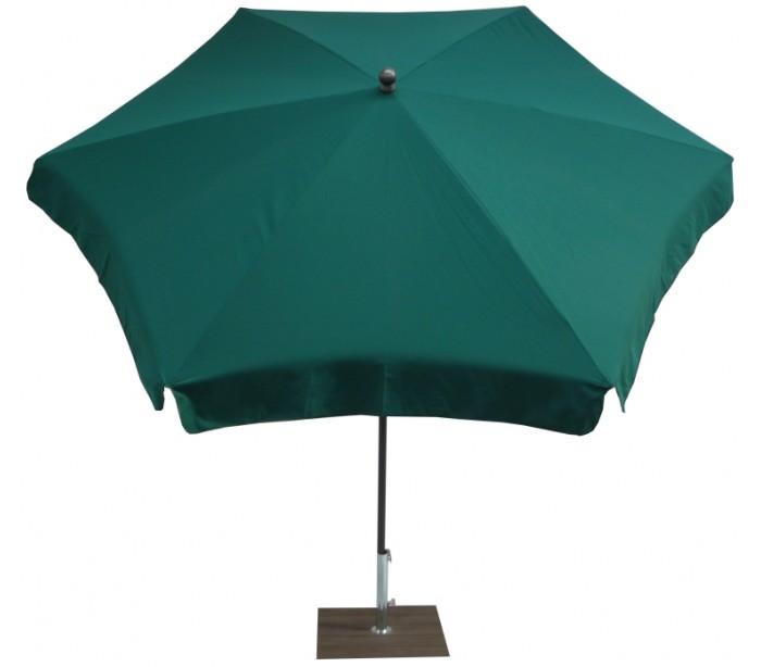 maffei Maffei mare parasol i polyester og stål ø250 cm - grøn fra lepong.dk