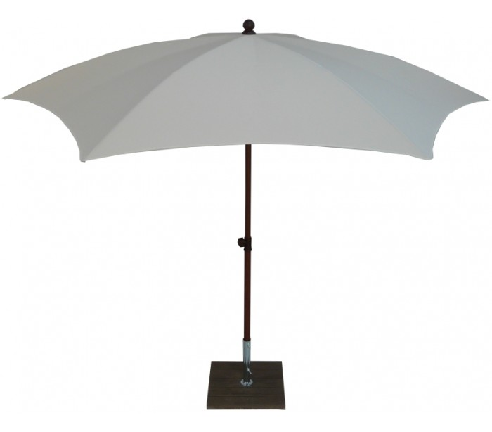 maffei Maffei madera parasol i polyester og aluminium ø280 cm - natur fra lepong.dk