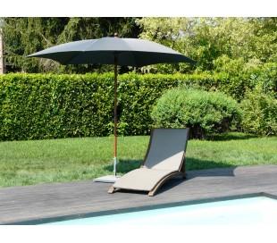 Maffei Madera parasol i polyester og aluminium Ø280 cm - Antracit