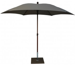 Maffei Madera parasol i polyester og aluminium Ø280 cm - Taupe