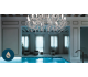 DRYLIGHT S12 Udendørs lysekrone Ø106 cm 36W LED - Klar