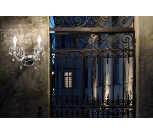 DRYLIGHT A2 Udendørs væglampe B40 cm 6W LED - Klar