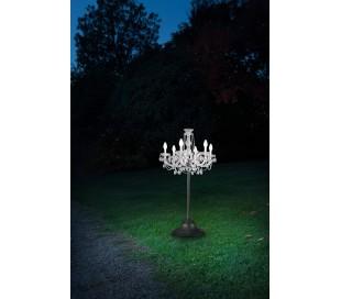 DRYLIGHT TL6 Udendørs bordlampe H120 cm 18W LED - Klar