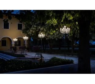 DRYLIGHT STL6 Udendørs gulvlampe H250 cm 18W LED - Klar
