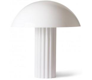 Bordlampe i akryl H61 cm 3 x E27 - Hvid