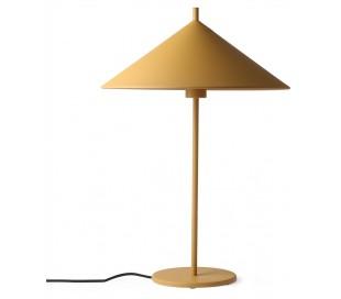 Bordlampe i metal H58 cm 1 x E27 - Okker