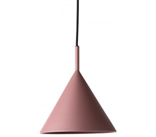 Loftlampe i metal Ø22 cm 1 x E27 - Mat lilla